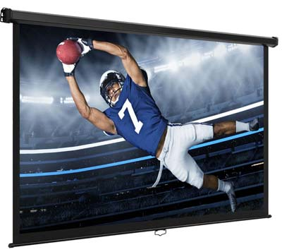 Portable Video Projection Screens