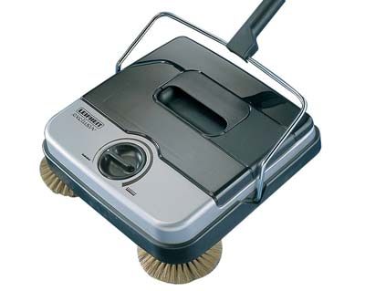 Leifheit 11410 Classic Manual Rotaro Carpet Sweeper with Brushes