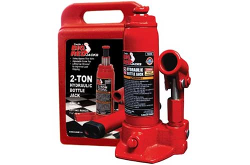 Torin T90213 Hydraulic Bottle Jack with Blow Carrying Case