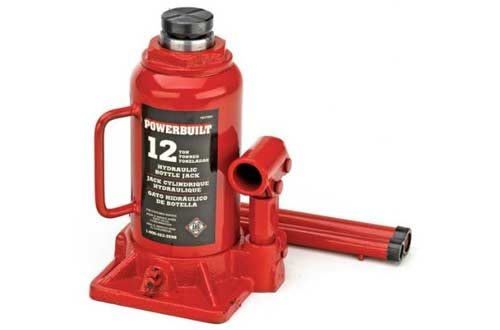 Powerbuilt 647501 Heavy Duty 12-Ton Bottle Jack