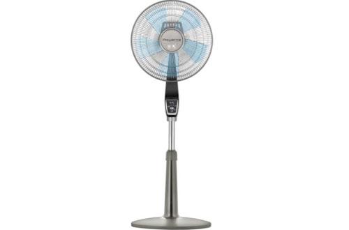 Rowenta VU5551 Turbo Silence 4-Speed Oscillating Pedestal Fan
