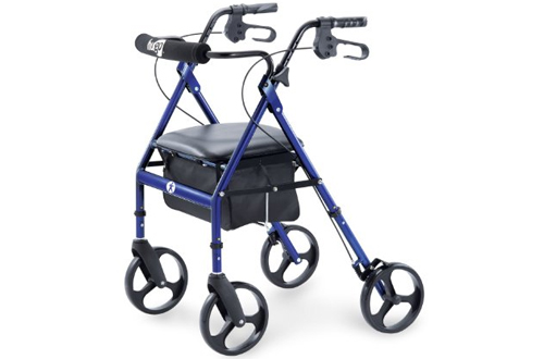 Hugo Portable Rollator Walker with Seat