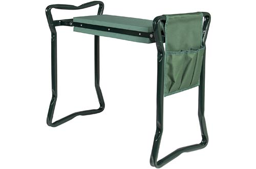Foldable Garden Kneeler and Seat
