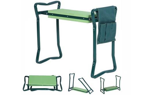 Foldable Garden Kneeler With Handles
