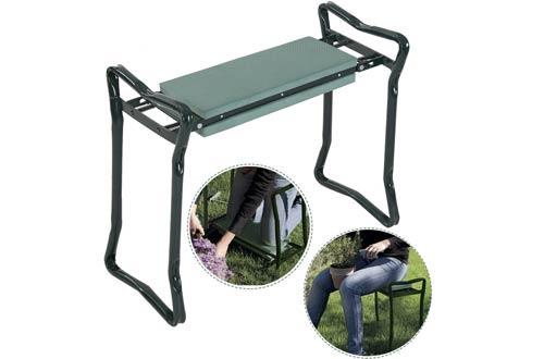 Folding Sturdy Garden Kneeler Gardener Kneeling Pad