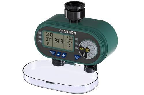 Electronic Dual-valve Hose Irrigation Water Timer Sprinkler System
