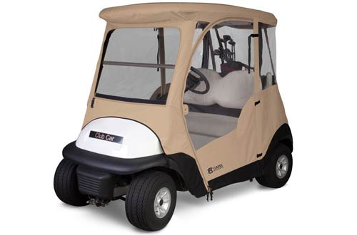 Classic Accessories Fairway Deluxe 4-Sided 2-Person Golf Cart
