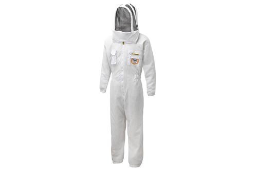 Bee Proof Suits Zonda Ventilated Bee Suit Triple Layer Mesh Fabric