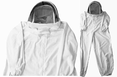 New Professional Medium/Large Cotton Full Body Beekeeping Bee Keeping Suit