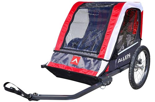 Allen Sports Deluxe 2-Child Steel Bicycle Trailer