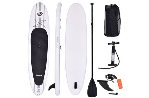 Goplus Inflatable 11' StandUp Paddle Board Package