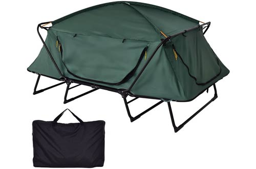 Tangkula Tent Cot Folding Waterproof 2 Person