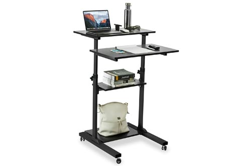 Height Adjustable Computer Work Station
