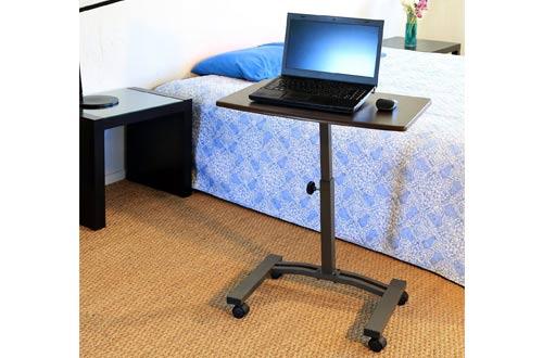 Seville Classics Mobile Laptop Desk Cart