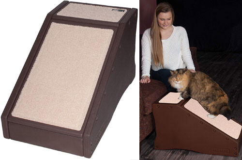 Pet Gear Portable Lightweight Pet Stair and Ramp for Dog & Cat