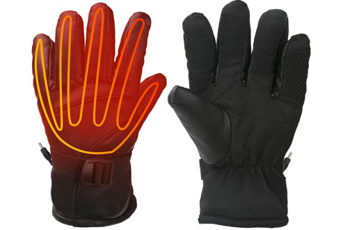 Heated Gloves for Men Fingers Hands Warmer