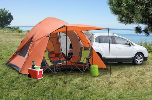 Backroadz 10x10-Ft 6-Person SUV Tent : backroadz suv tent - memphite.com