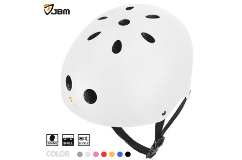 JBM Skateboard Helmet CPSC ASTM Certified Impact resistance Ventilation