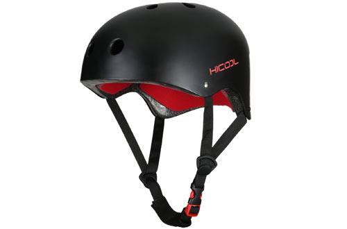 Skate Helmet, Hicool Protective Helmet for Skateboarding Cycling