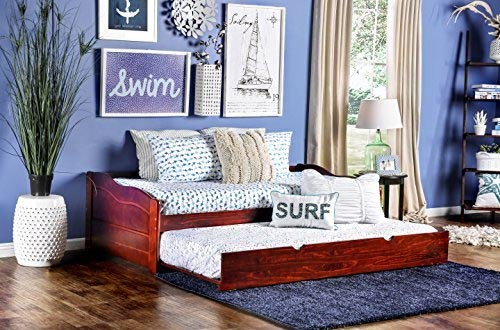 Furniture of America Modal Daybed with Trundle