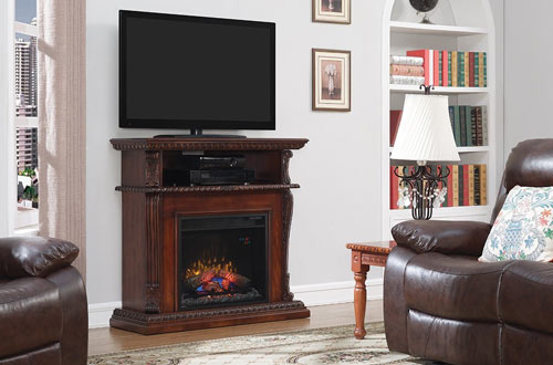 Terrific Top 10 Best Corner Fireplace Tv Stands Reviews In 2019 Interior Design Ideas Philsoteloinfo