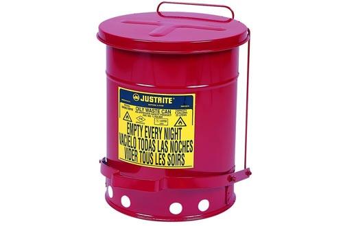 Justrite J09100 09100; Galvanized-steel