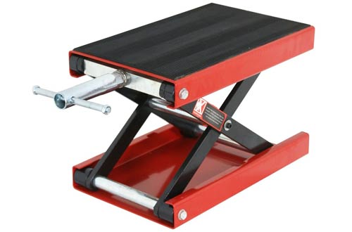 ZENY 1100 LB Wide Deck Motorcycle Center Scissor Lift Jack