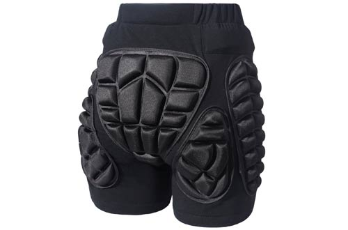 3D Protection Hip EVA Padded Short Pants