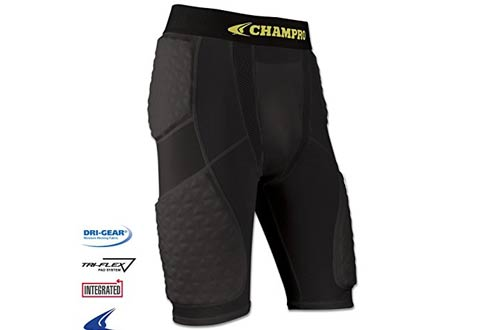 Champro Adult Tri-Flex Padded Short