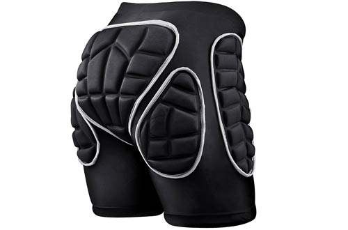 Protection Hip ,3D Padded Shorts Breathable Lightweight Protective Gear
