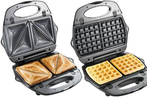 Sandwich and Waffle Maker