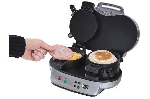 Hamilton Dual Breakfast Sandwich Maker