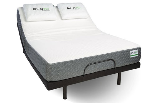 Ghostbed TwinXL Custom Adjustable Power Base-Interactive Dual Massage