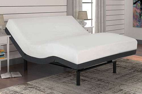 S-Cape 2.0 Adjustable Bed Base with Wallhugger Technology and Full Body Massage
