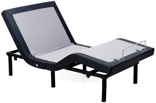 Twin XL Solid Wood Slat Adjustable Bed Base