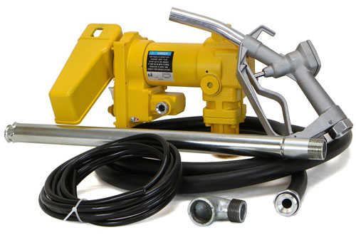 Gasoline Fuel Transfer Pump Self-Priming W/Nozzle