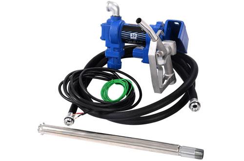 Goplus 20GPM Gasoline Fuel Transfer Pump