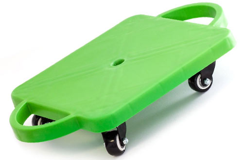 GSE Games & Sports Kids Gym Class Plastic Scooter Board