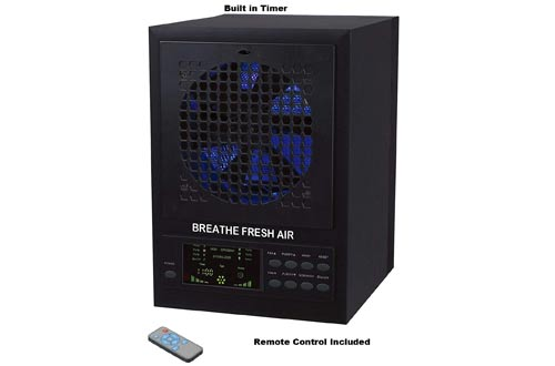 Breathe Fresh 5-in-1 Air Purifier w/UV, Ozone Power, Ionizer Odor Reducer