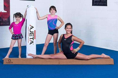 Gymnastics Balance Beam with Carry Bag