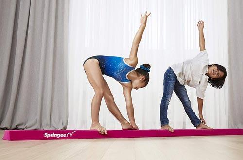 Folding Gymnastic Beam for Girls, Boys, Teens