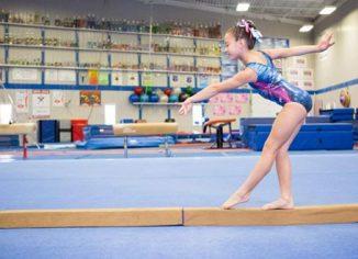 Tumbl Trak 4ft Sectional Gymnastics Training Floor Balance Beam