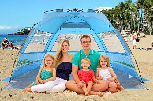 mittaGonG Instant Pop Up Portable Beach Tent Sun Shelter