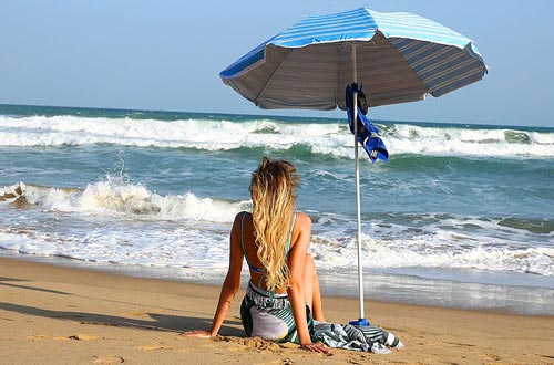 Patio Beach Umbrella for Sun and Outdoor