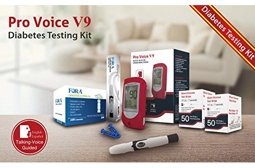 Pro Voice V9 Diabetes Testing kit