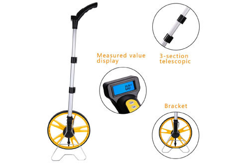 Measuring Wheel Digital Display With Free Carrying Pack