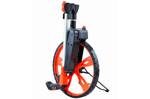 Keson RRT12 Top Reading Center Line Measuring Wheel with Handle Brake