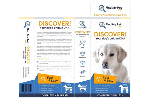 Find My Pet DNA Dog DNA Test - dog breed test kit