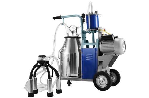 Happybuy Electric Milking Machine 25L Single Bucket Milking Machine