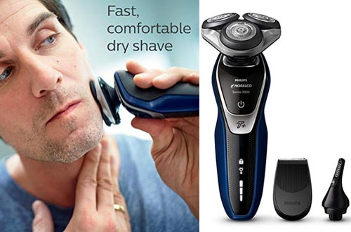 Philips Norelco Electric Shaver 5570 Wet & Dry,